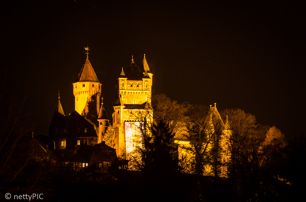Schloss Braunfels by night