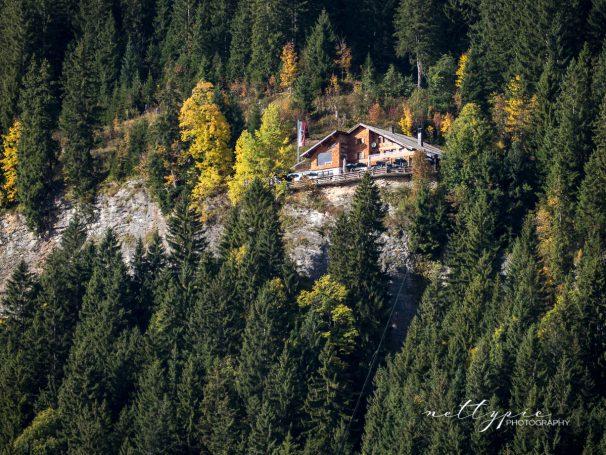 Wanderung zur Berghütte Adlerhorst